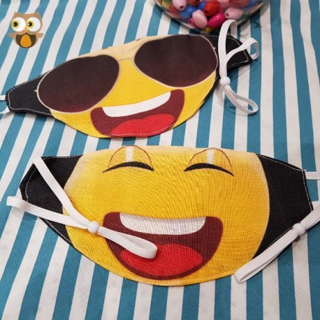 Funny Face double sided mask
