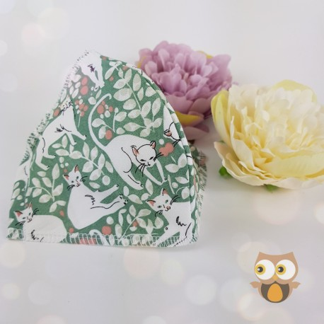 Basic butterfly fabric face covering